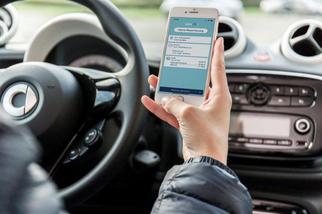 Digitales Carsharing